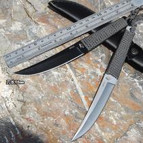 刀具 防身 冷兵器印第安刀氚气刀随身高硬度直刀开刃军刀户外小刀