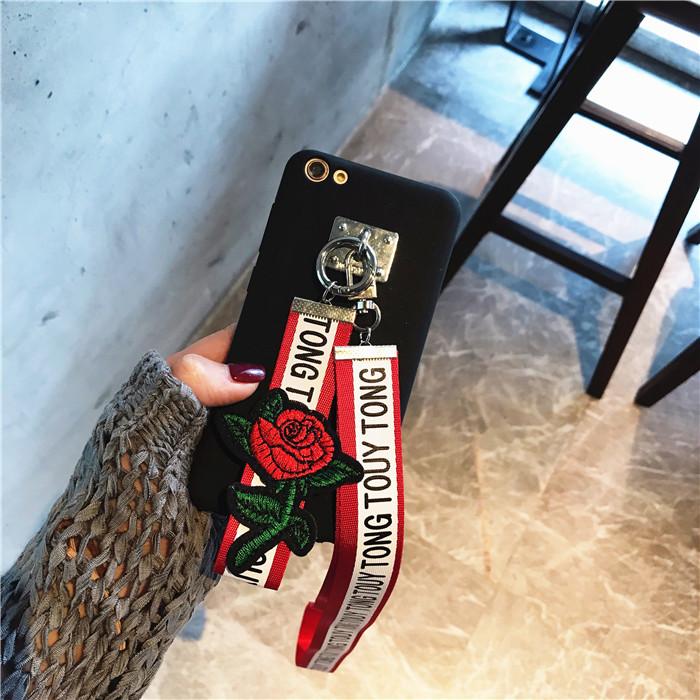 韩风织带 海信m30手机套Hisense m30T手机壳磨砂女款挂脖手机套潮
