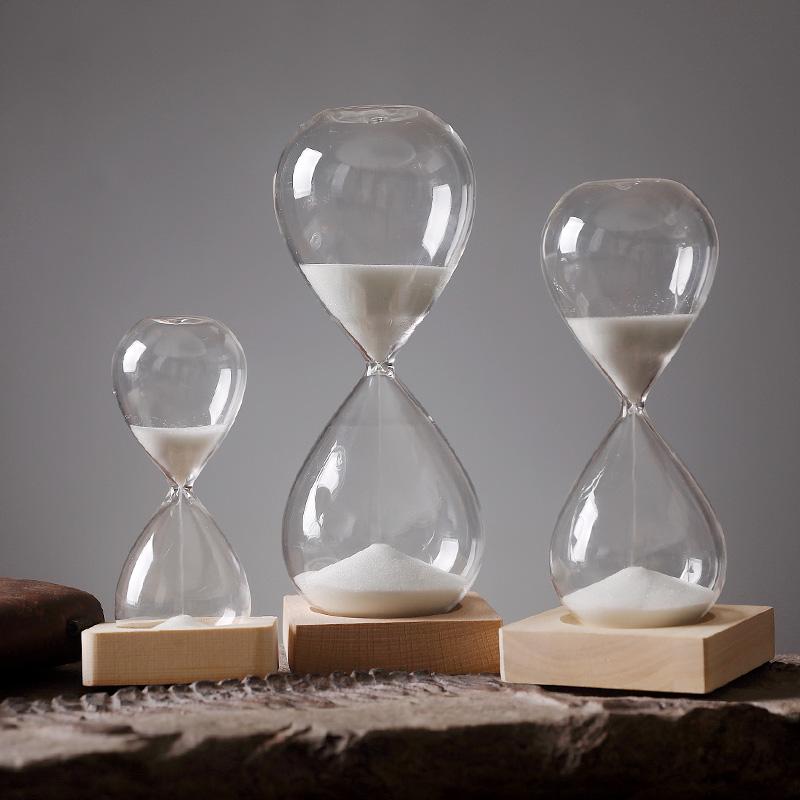 钻石沙漏摆件创意个性简约现代五分十分钟时间倒计时创意礼物男生