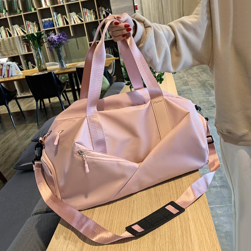 运动健身包女干湿分离瑜伽包手提训练包韩版轻便大容量短途旅行包