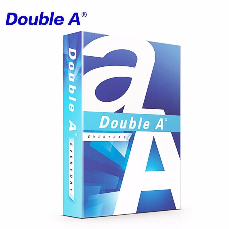 Double A达伯埃泰国原装进口70克复印纸A3A4白色单包500张打印纸80g多省包邮