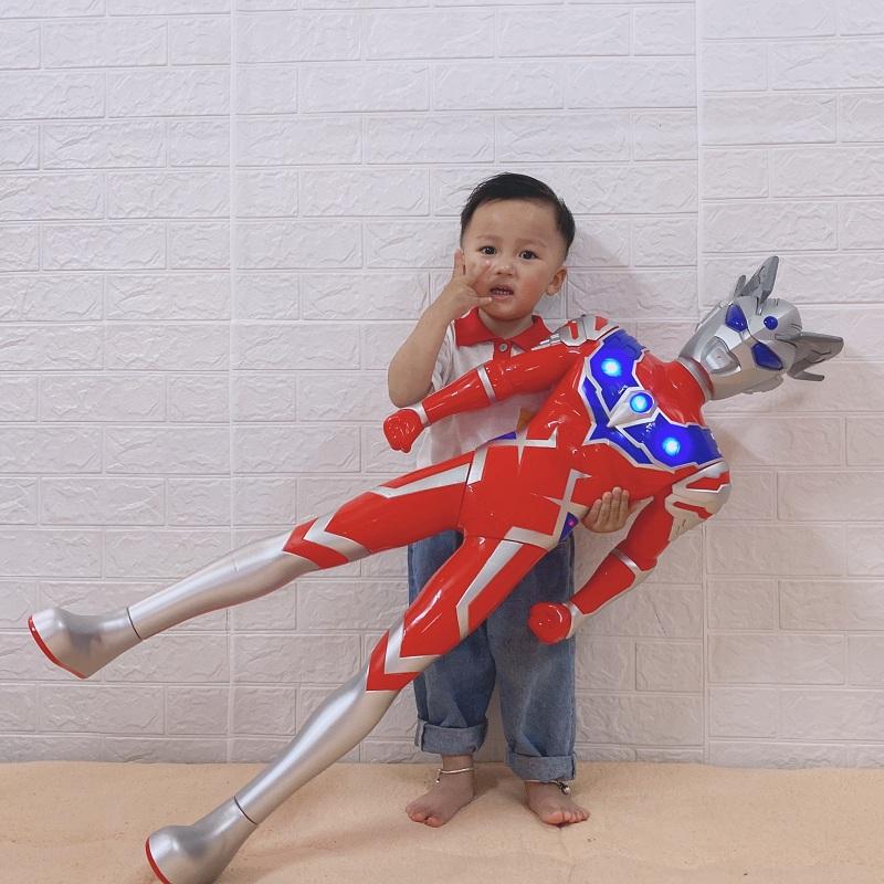 超大号奥特曼银河超人六一儿童节礼物迪迦赛罗泰罗套装男孩玩具