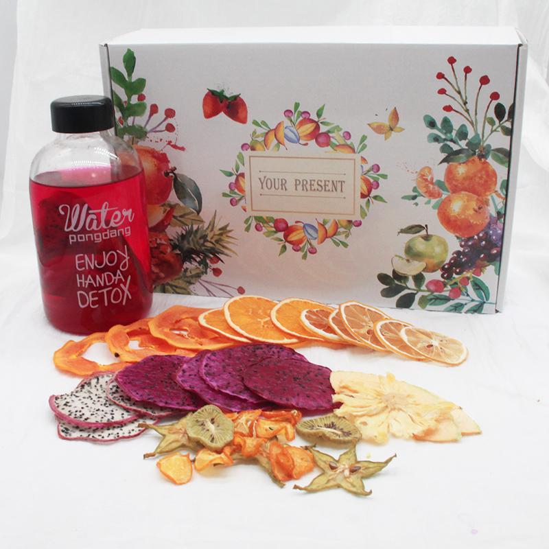 【纯水果制作】水果茶新鲜纯手工果干果粒茶组合孕妇养生水果片茶