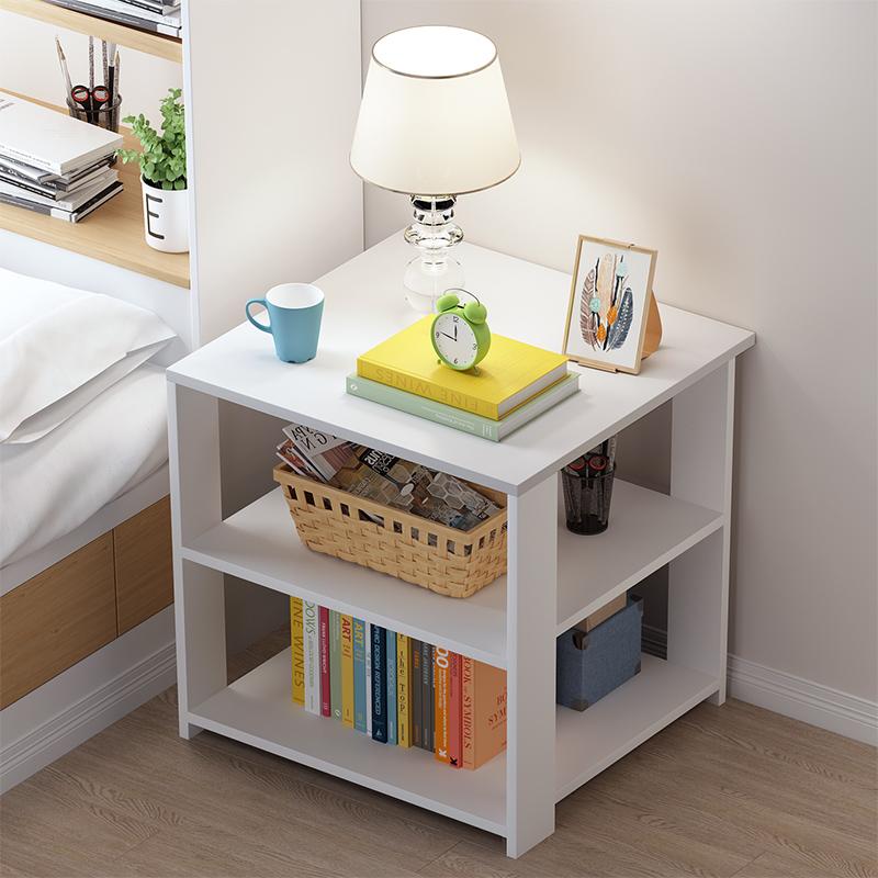 [¥24]床头柜北欧简约现代床头方形收纳柜简易50元以内床边小柜子经济型