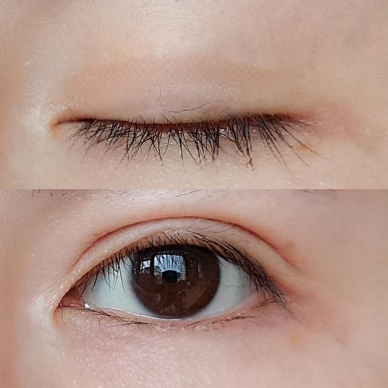 浅色蕾丝网纹双眼皮贴隐形自然肉色肤色橄榄形网红适合初学者肤白
