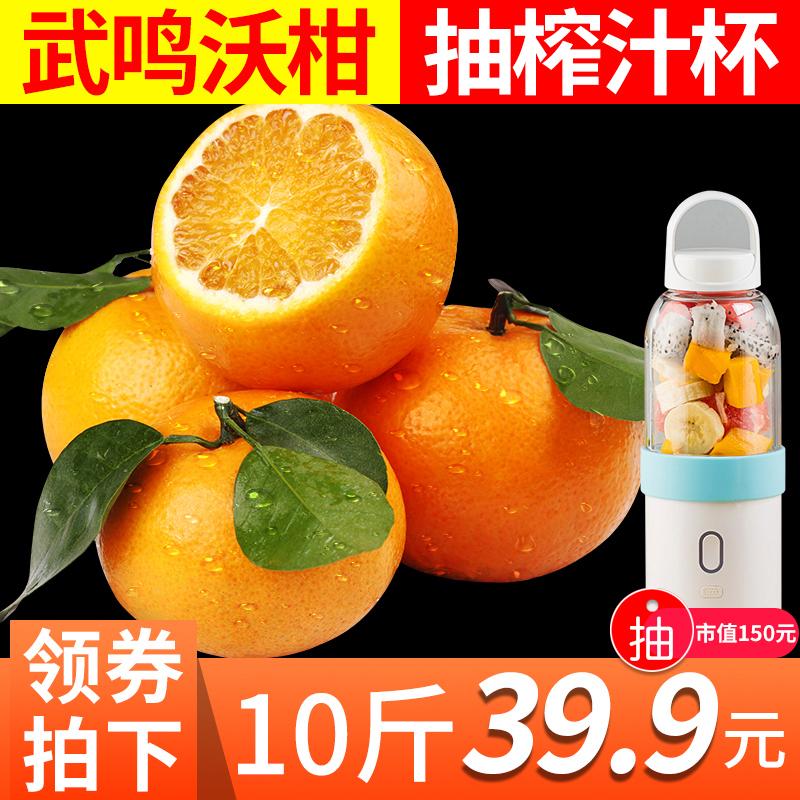 沃柑广西武鸣橙子手剥橘子桔子水果皇帝柑丑橘蜜桔脐橙贵妃柑10斤