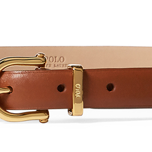 Ralph Lauren / Ralph Lauren women's classic Napa leather belt 50033-c