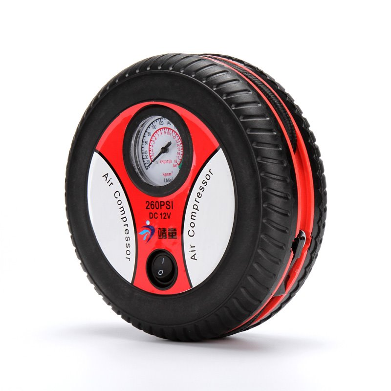 包邮车载充气泵汽车用电动冲气泵12V轿车轮胎应急打气筒特价促销