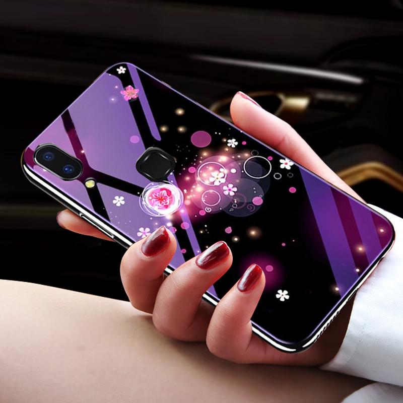 网红电镀vivox21手机壳女款潮vivox20女玻璃x21vivo屏幕指纹版x9s全包防摔x9plus超薄x20plus个性硅胶男x21i