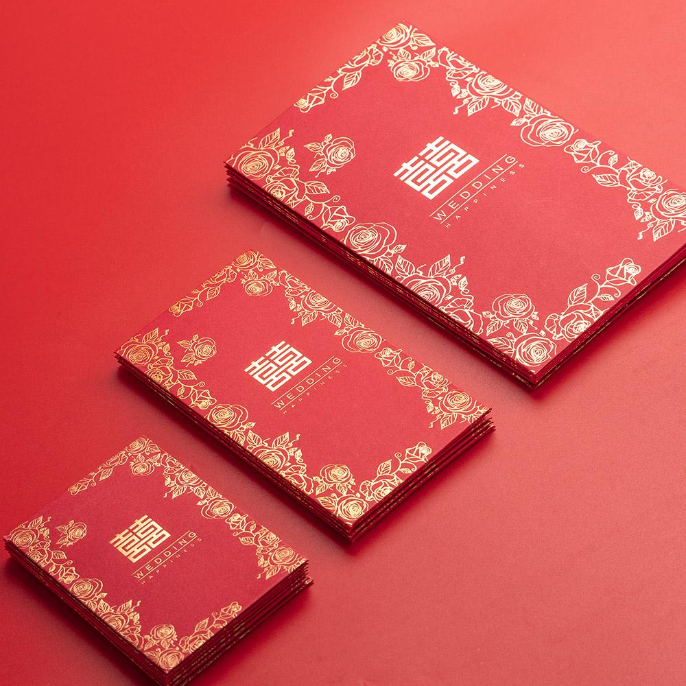 婚庆用品结婚创意千元利是封硬质万元2019年新年大过年春节红包袋