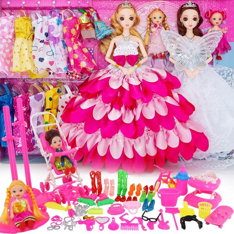 点击查看商品:会说话唱歌芭比婚纱娃娃60厘米大娃娃女孩