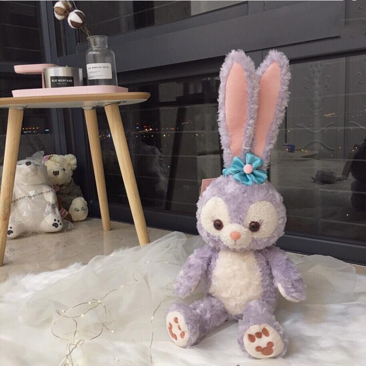 星黛露公仔史黛拉兔芭蕾兔公仔挂件达菲兔少女心ins毛绒兔子玩偶