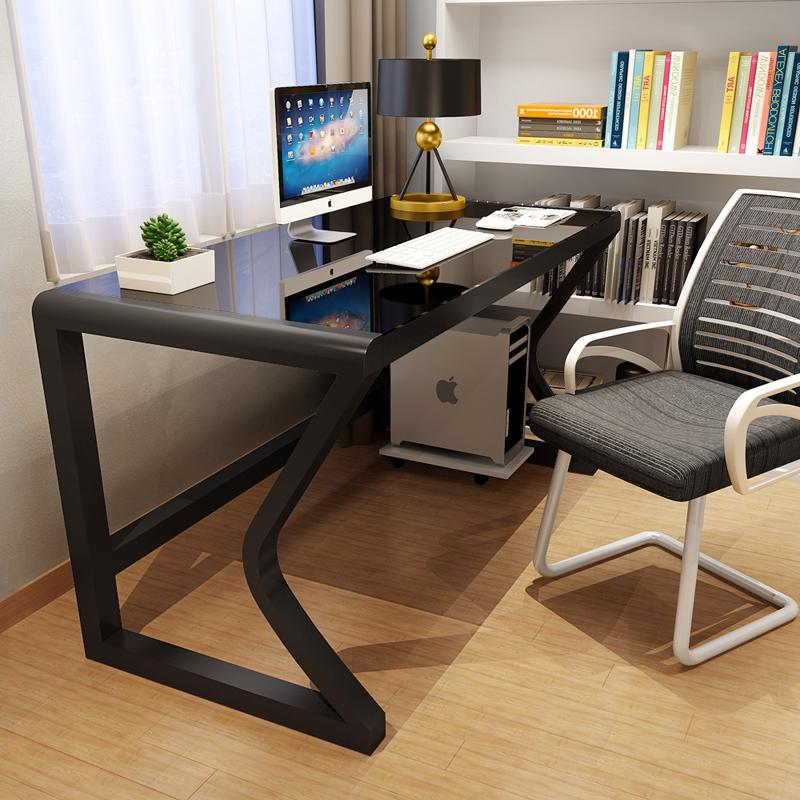 电脑台式桌家用简约现代电脑桌子经济型书桌简易写字台双人电脑桌