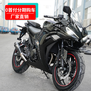 Guosi motorcycle sports car 400cc350cc locomotive motorcycle r3 sports car water-cooled double cylinder on behalf of the brand vehicle
