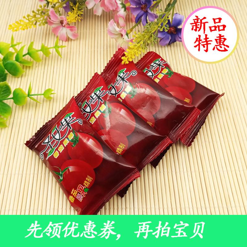 福佰达番茄干圣女果干散装1袋250g2袋500g酸甜小包装干果休闲零食
