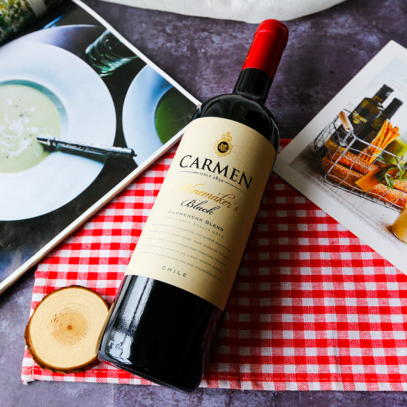 原瓶进口卡乐门carmen酿酒师佳美娜干红葡萄酒750ml单支