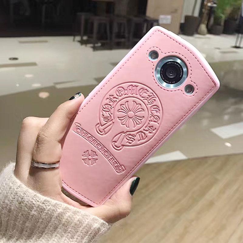 美图M8手机壳粉色硅胶M6s挂绳M4s防摔v4s皮质全包T8s软保护套潮壳