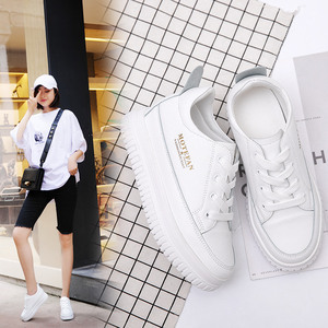 Increased 8cm sneakers 2019 new women's autumn women's shoes small white shoes female small size shoes female students wild