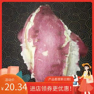白心红薯新鲜板栗薯白薯白芯红著红苕番薯红薯白瓤地瓜干面甜5斤