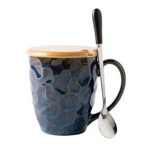 简约杯子家用陶瓷杯时尚咖啡杯创意马克杯个性北欧ins水杯大容量