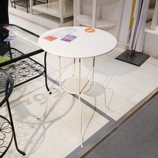 温馨宜家IKEA林德维边桌边几茶几小圆桌就餐桌电话桌杂志桌包邮