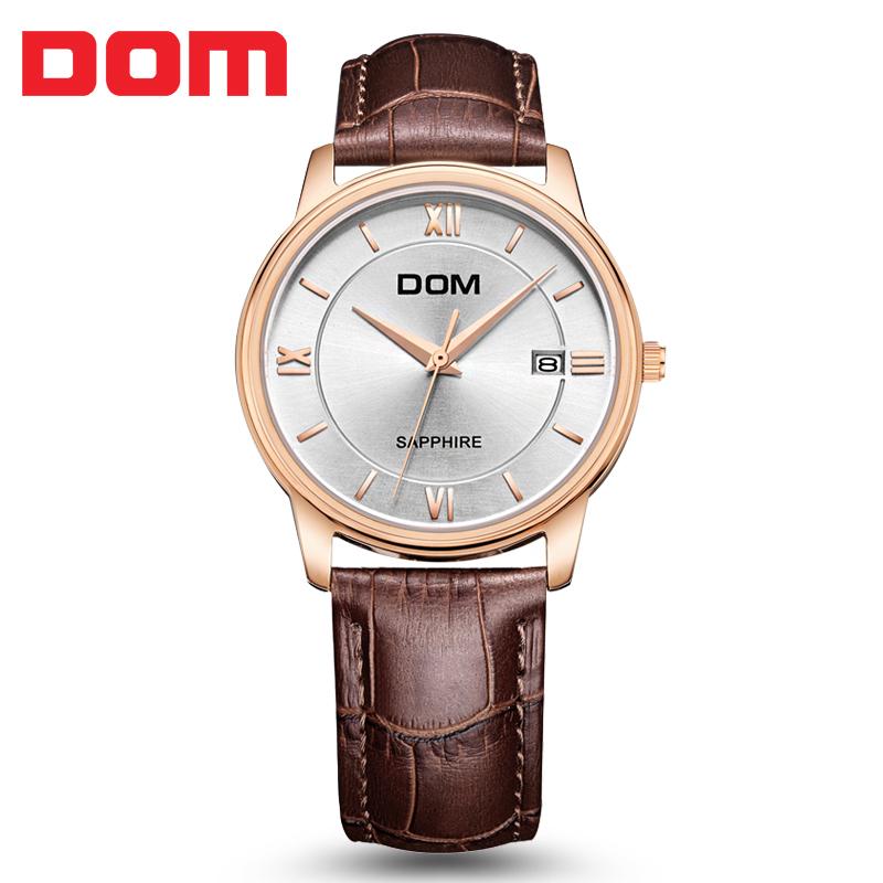 2019新款DOM正品腕表品牌男生手表流行男表手表石英男士手表促销