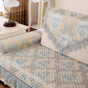 Cloth cushion sofa back towel non-slip wild fabric towel cover easy to take towel cover towel temperament thickening home