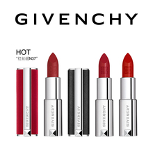 Official authentic Givenchy lamb, leather, red, half dull light lipstick, 3 sets of make-up suits, gift boxes.