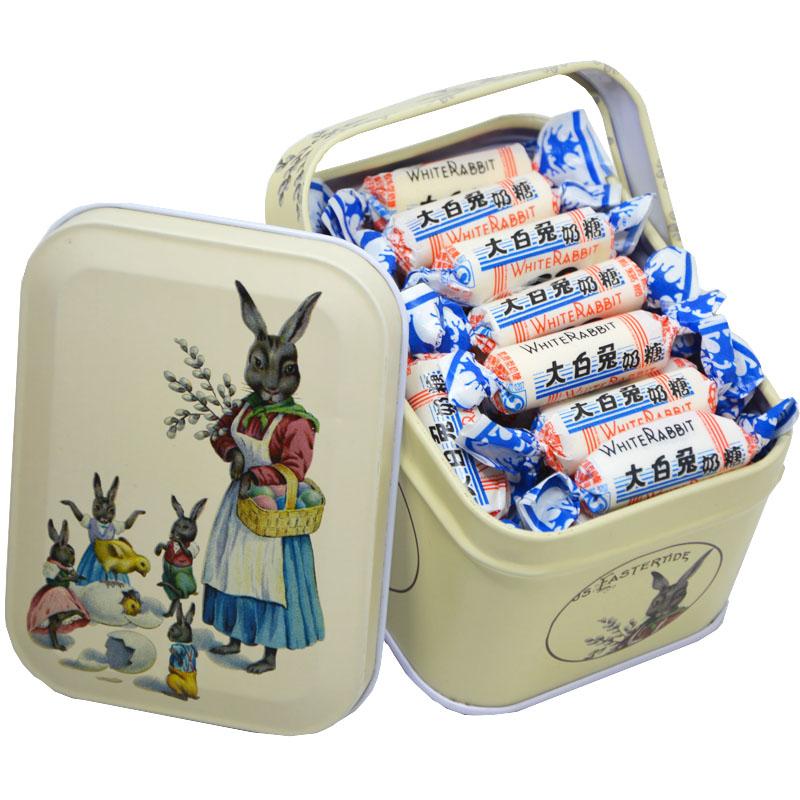 大白兔奶糖上海特产零食小时候吃的糖冠生园糖果礼盒装食品114g
