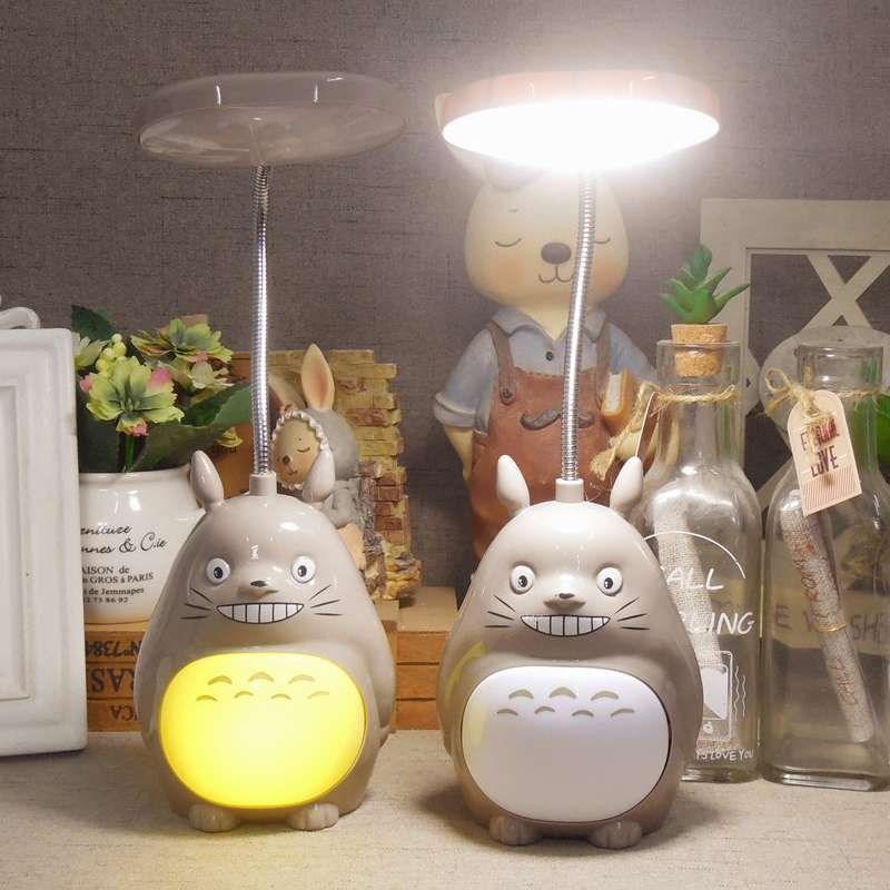 充电小台灯护眼书桌大学生宿舍用床上床灯看书夜读灯床头夹式读书