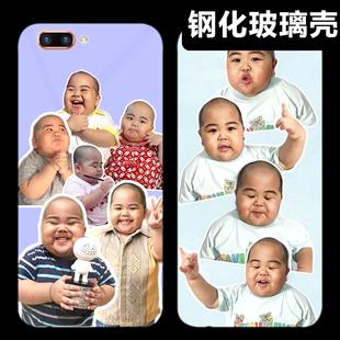 oppooA92s/A91/A8/A11x/A9x/A7/A5/手机壳tatan/印尼小胖子玻璃潮