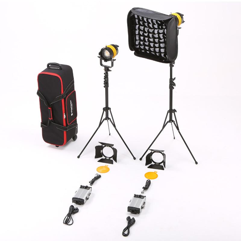 影视 聚光灯 国产 调光 摄像 摄影 双灯 套装