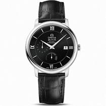 Omega欧米茄男表碟飞系列简约手表皮带机械表424.13.40.21.01.001