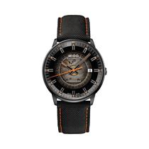 Mido美度手表指挥官渐变男表日历织物带机械表M021.407.37.411.00