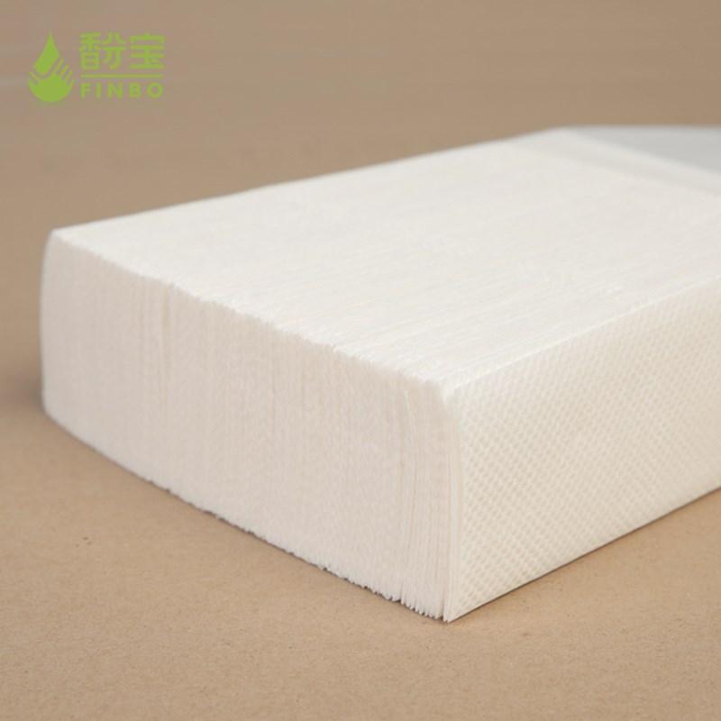 酒店专用擦手纸抹手纸厨房厕所卫生间纸巾整箱20包木浆吸水吸油纸