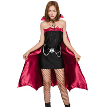 Vamp Costumes Vamp Costumes Vampire Dresses in Night Night with Capes Bat Halloween Dresses