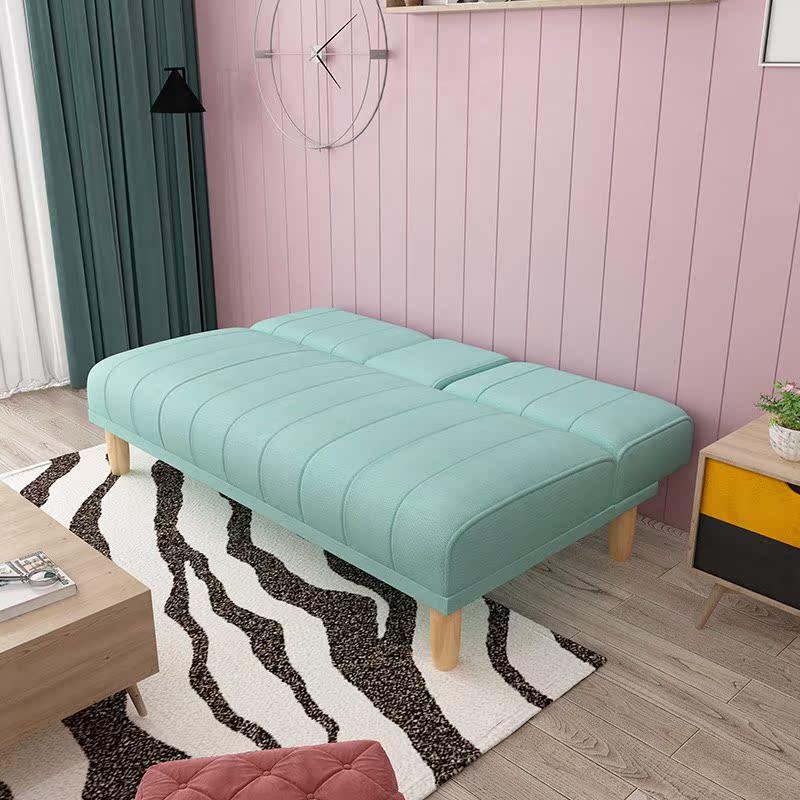 折叠沙发床两用多功能经济型单双人实木卧室阳台客厅出租房简易省