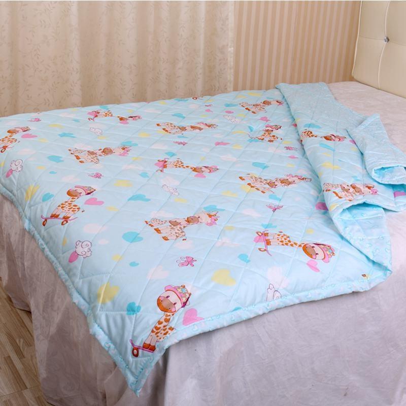 儿童夏凉被特价宝宝夏季幼儿园清仓单人薄小被子午睡可水洗空调被
