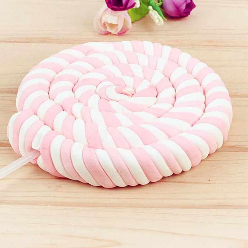 一支就包邮 75克超大棉花糖 棒棒糖水果创意糖果零食礼物
