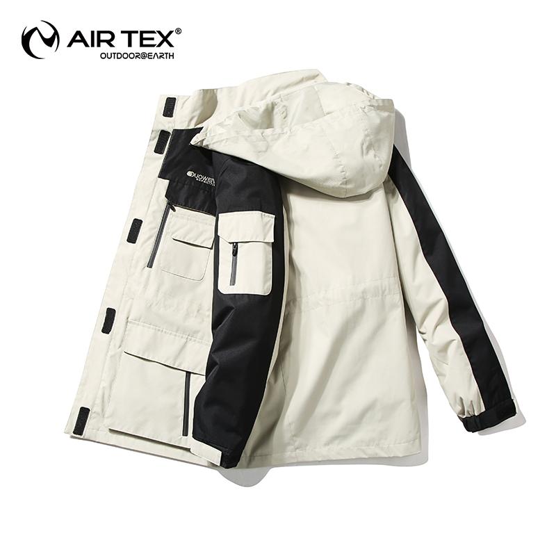 英国亚特airtex男士冲锋衣女三合一两件套可拆卸滑雪服秋冬季外套