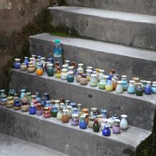 随机8个不同款 景德dq7陶瓷 迷na创意摆件花插 家居品