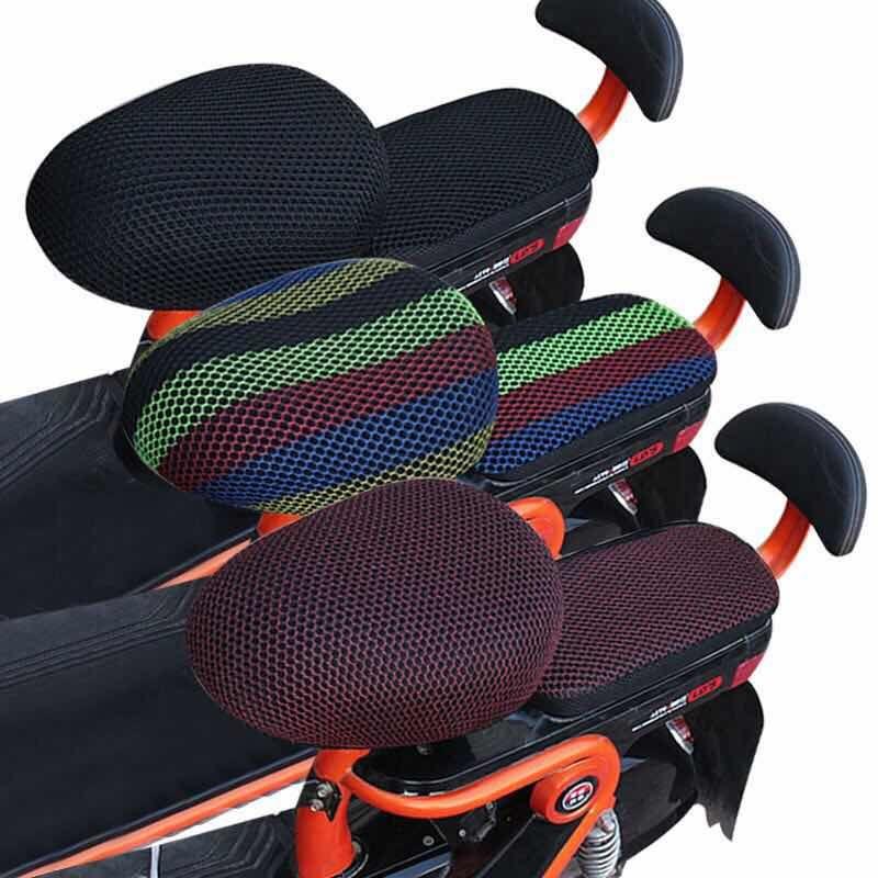 电动自行车车座套电动车电瓶车坐垫套四季通用防晒防水隔热透气3D