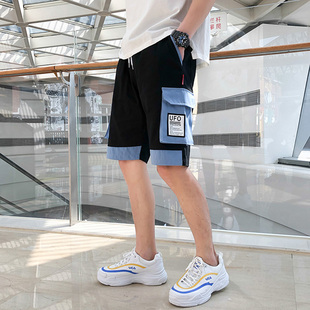 夏季工装裤男多口袋休闲 国潮i