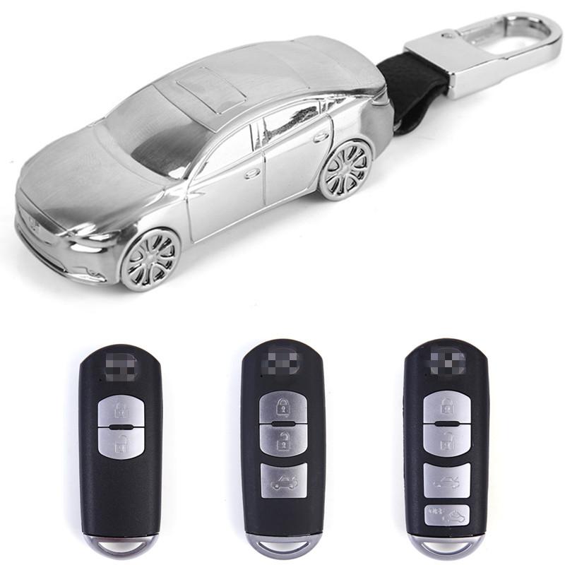 适用马自达昂克赛拉钥匙套阿特兹CX4CX5马6马3睿翼汽车包扣壳