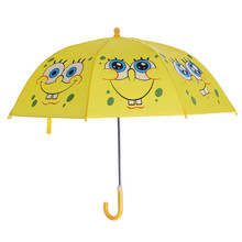 海绵宝宝8a1童雨伞卡nv遮阳伞(小)学生雨伞幼儿园表演伞包邮