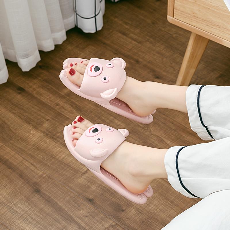 亲子儿童拖鞋夏男女童可爱家用室内小孩软底防滑1-3岁2宝宝凉拖鞋
