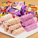 圣宝萌燕麦巧克力1000g组合装营养燕麦片燕麦酥糖果批发年货零食