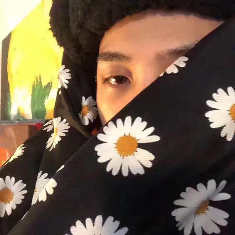 peaceminusone 小雛菊 羽絨圍巾