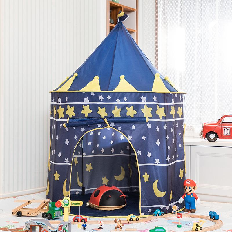 儿童帐篷游戏屋室内家用婴儿宝宝蒙古包城堡玩具屋男孩女孩公主房