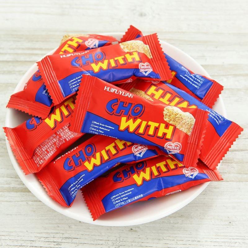 燕麦片巧克力零食喜糖果500g燕麦酥散装整箱结婚庆宴小吃礼包。